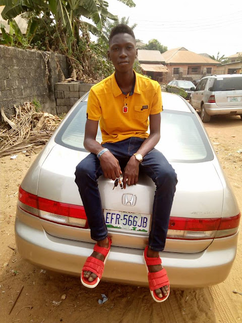 18year Old Internet Marketer  Chux Daniel Welcomes His Brand New Car, A Honda Accord  End Of Discussion (EoD)