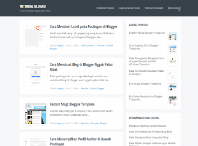 Blogku Template