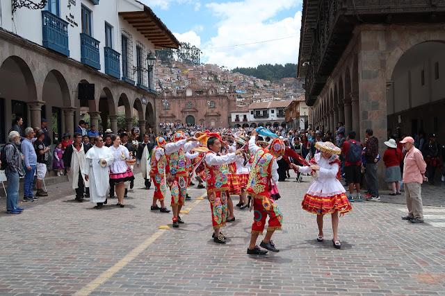 Procesión en Cusco