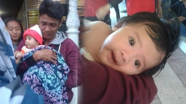 Sedih, Istri dan Anak Meninggal, Pria Ini Gendong Bayinya Pergi Dari Palu Sebab Tak Ada yang Tersisa