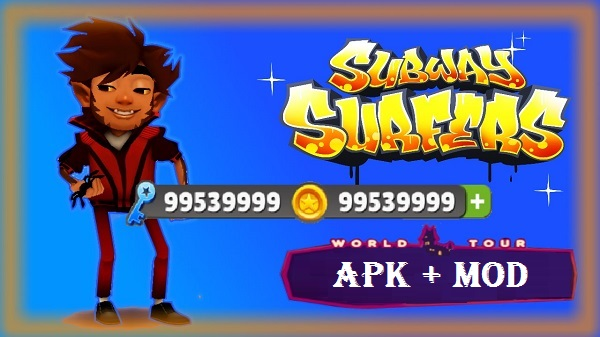 Download Subway Surfers Apk Mod Unlimited Money Coins Keys