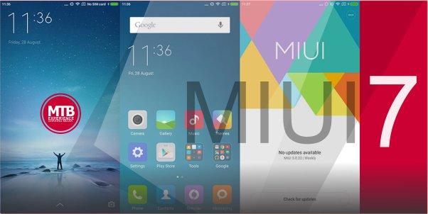 Cara Upgrade MIUI 6 ke MIUI 7 di Xiaomi Redmi 2 - SUKSES!