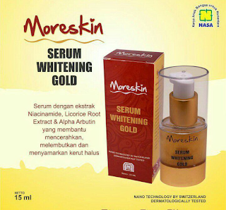 Harga Moreskin Serum Whitening Gold Nasa