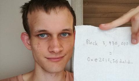 Vitalik Buterin, concepteur d'Ethereum