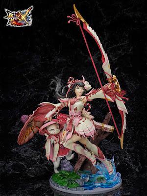 """Figuras: Preciosa figura F:Nex Hunter Mizutsune del """"Monster Hunter XX"""" - Furyu"""