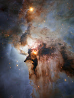 Centre of the Lagoon Nebula