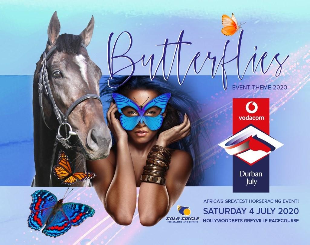 Butterflies - Theme for 2020 Vodacom Durban July