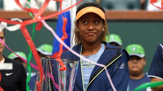 Osaka beats Kasatkina to win Indian Wells title