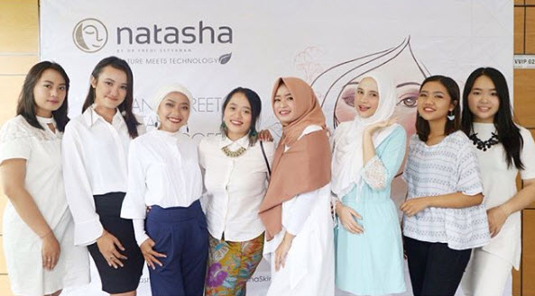 Meet and Greet Beauty Blogger road to 23 Birthday Celebration Natasha Skin Clinic Center