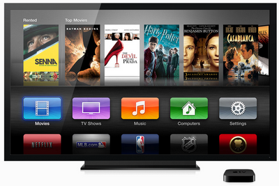 Apple TV Voice Command