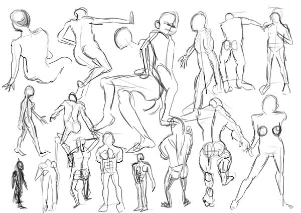 ART N STUFF: More anatomy