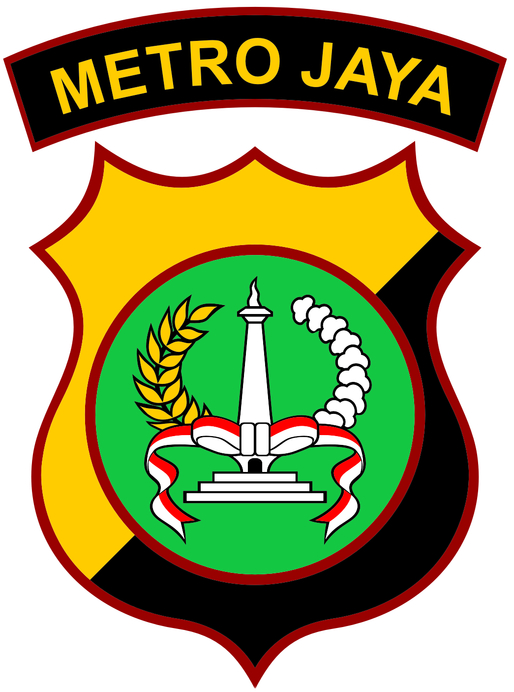 Logo Polda Metro Jaya Kumpulan Logo Lambang Indonesia