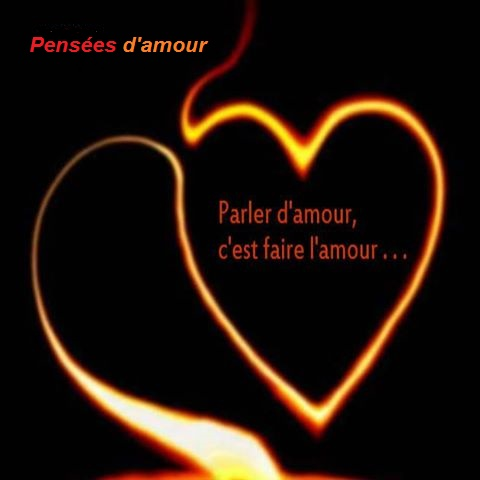 Pensee d'amour