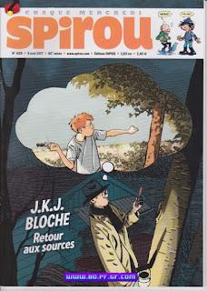 J.K.J.Bloche, retour aux sources, poster inclus