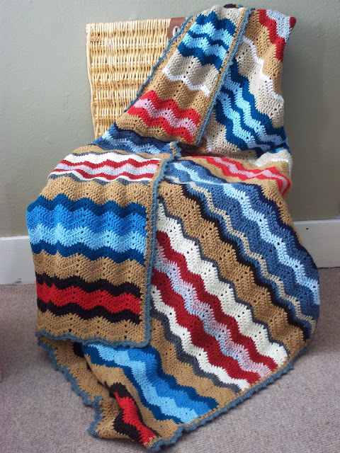 crochet stripe
