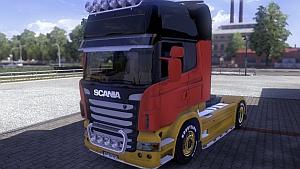Germany Scania Skin
