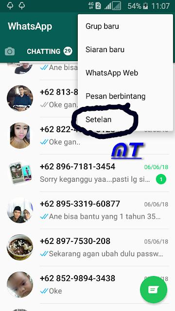 Tutorial Membuka Blokir Kontak WhatsApp