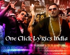 Party All Night Song Lyrics