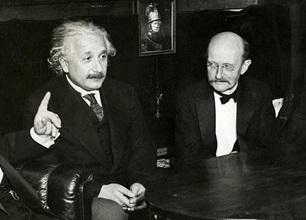Einstein dan Max Plank