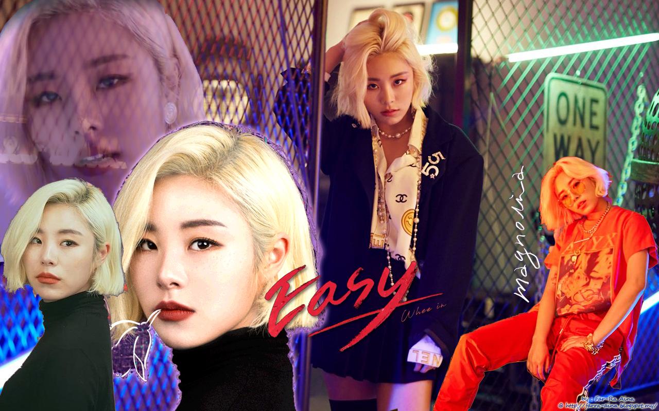 K Pop Lover Wheein Mamamoo Easy Wallpaper