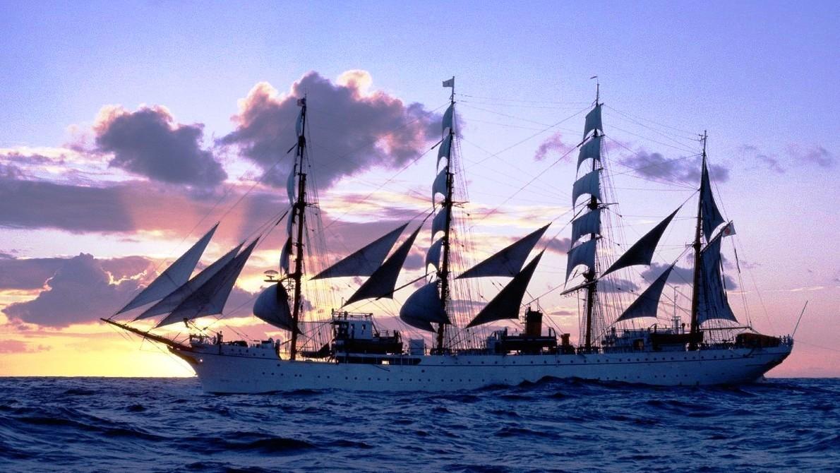 Kapal Layar Kaiwo Maru Ii Wallpaper 4 Gambar Kapal Laut