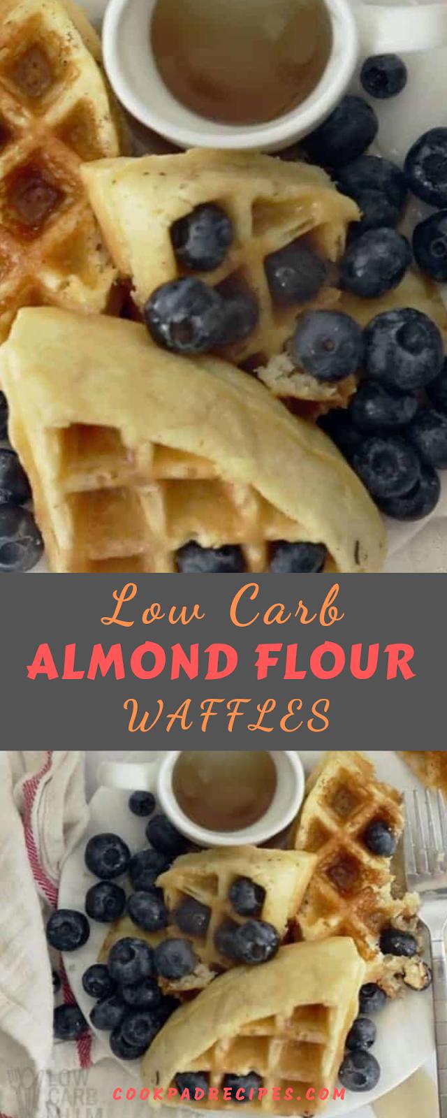 Low Carb Almond Flour Waffles – Gluten Free