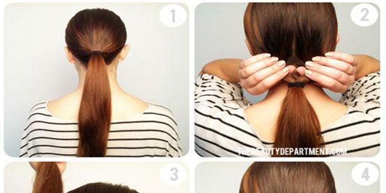 Awesome Cute Twist Amp Flip Bun Hairstyle Tutorial With Simple Steps Short Hairstyles Gunalazisus