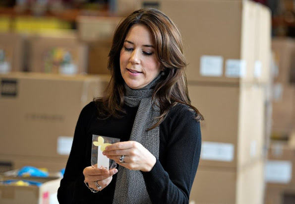 Princess Mary attend the events of LEGO for Mary Foundation