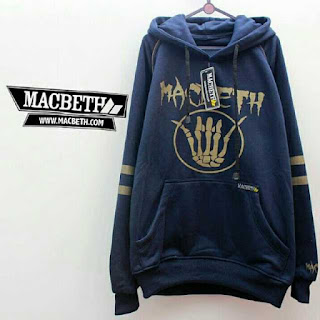 Jaket Fleece Hoodie Macbeth MAC018