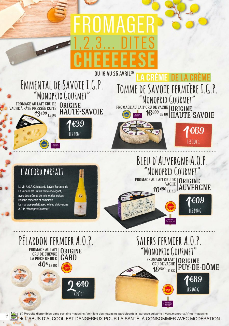 Catalogue monoprix 19 avril au 02 mai 2017 catalogue promo - Monoprix fr catalogue ...
