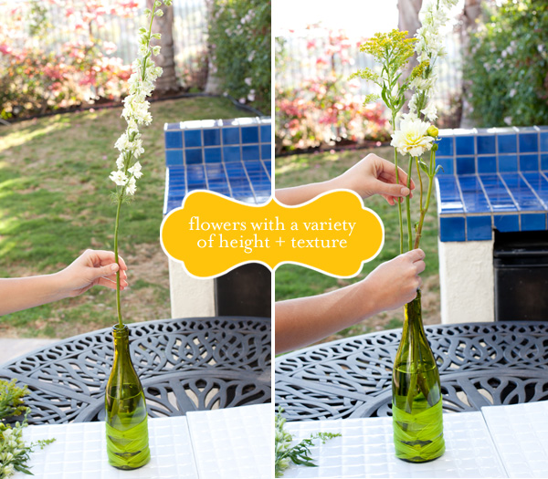 Flower Arrangements In Wine Bottles: Marry2Love: DIY 4: Wine Bottle Arrangements