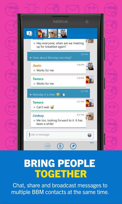 BBM Versi Final Kini Hadir untuk Pengguna Lumia