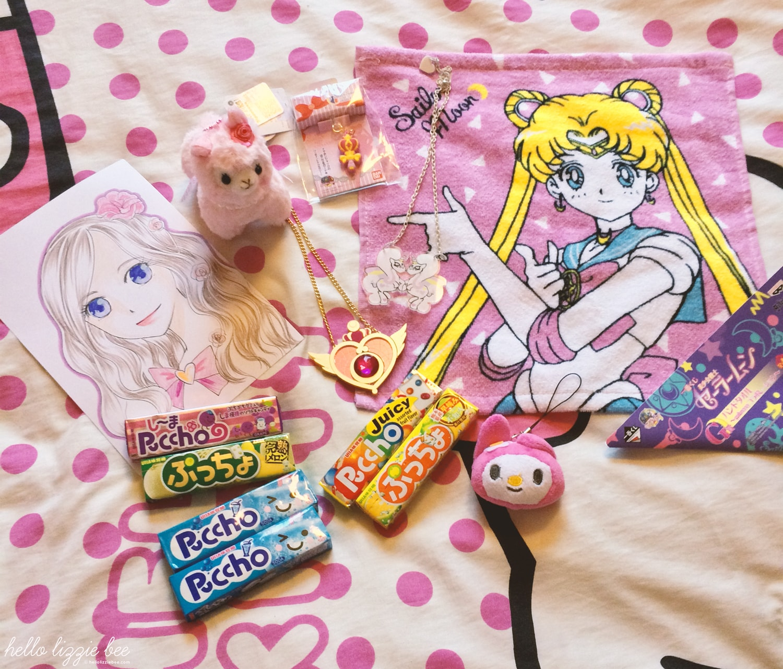 kawaii gets, japanese sweets, sailor moon