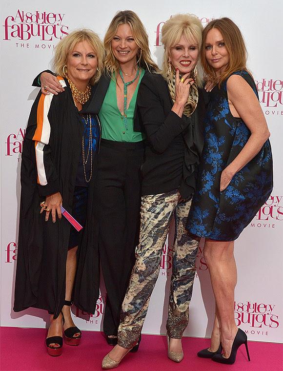 Stella McCartney au casting du film « Absolutely Fabulous »
