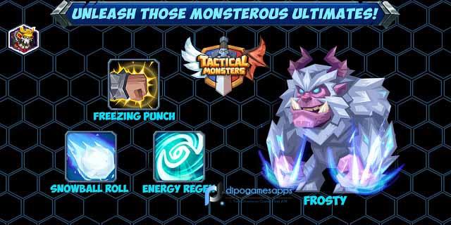 Download Tactical Monsters MOD APK Terbaru 2018