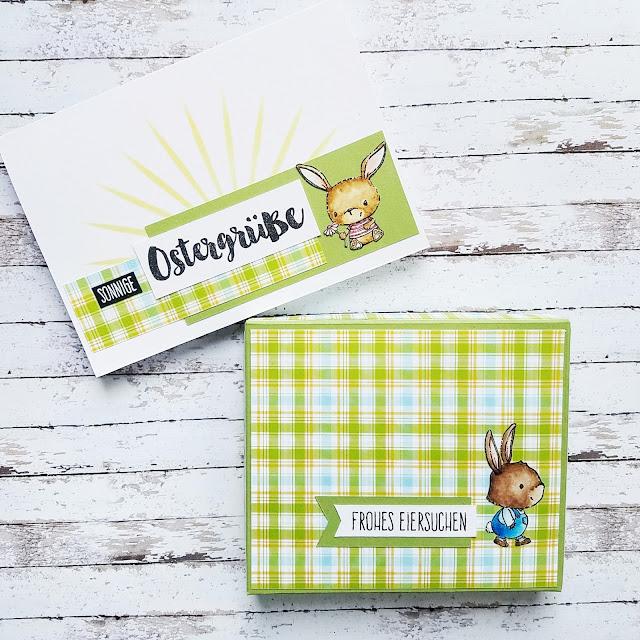 Kartenwerke: Happy Insta Girls Blog Hop, Karte und Geschenk von Mimi Zitrone