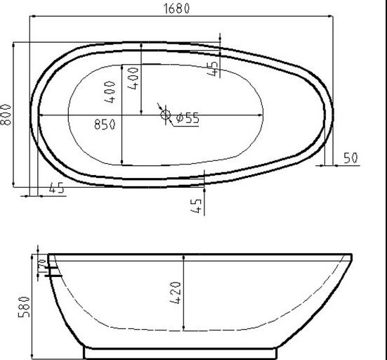 Soaking Tub Sizes - Standard Tub Size for Your Bathroom