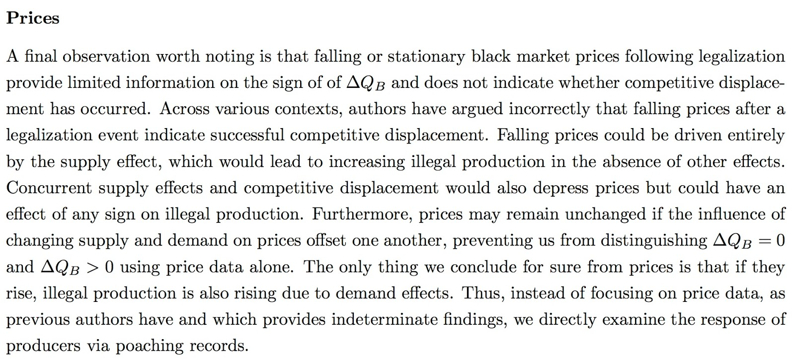 g feed errors drive conclusions in world bank post on ivory trade   2 should we discard our findings because dlm no similar discontinuity in a private ivory price data set