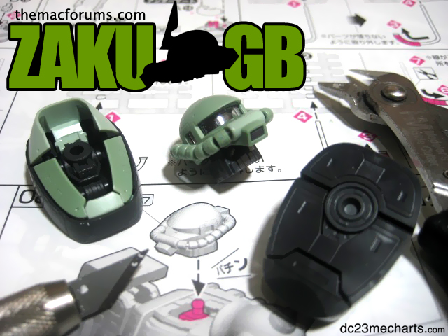 ZAKU GB quick announcement photo