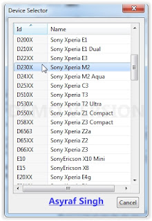 android_guide6 Guide To Upgrade or Flash Sony Xperia M2 (D2302, D2303, D2305, D2306) Using Xperifirm And Flashtool Root