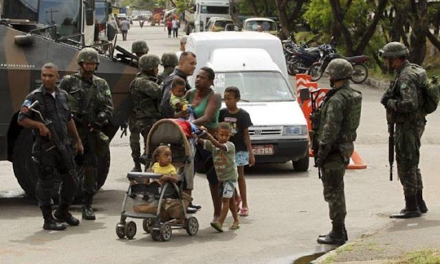 ব্রাজিলে সেনাবাহিনীর গুলিতে নিহত ৭