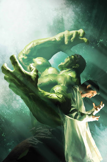 Bruce Banner Hulk Transformation