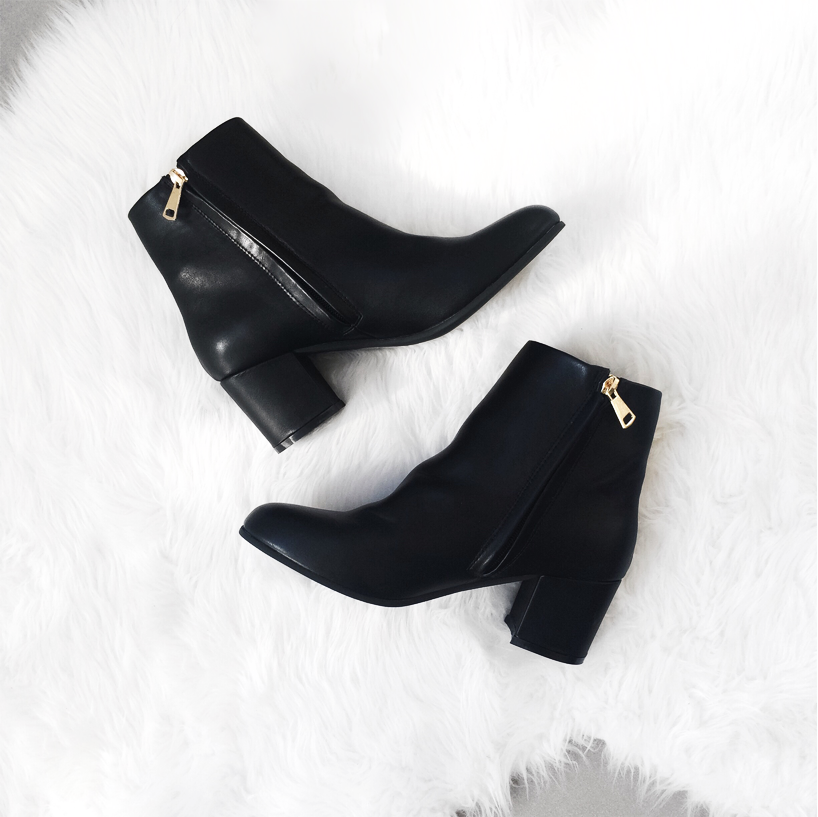 Spurr shoe The Iconic ella ankle boots black
