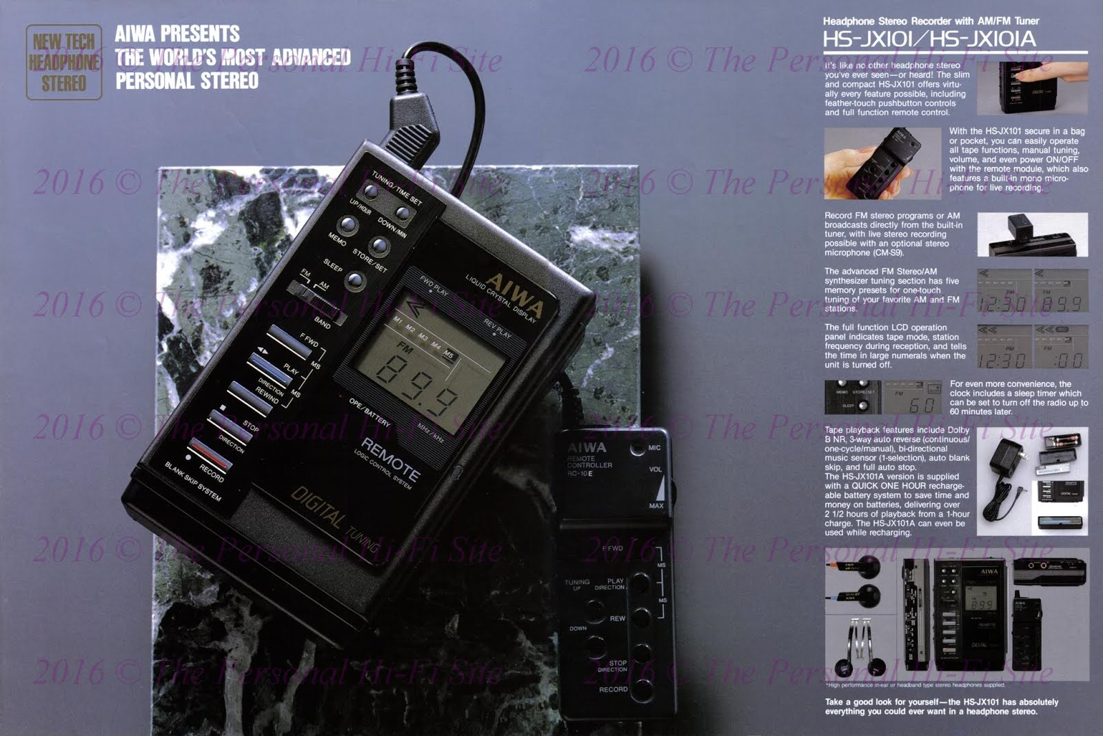 The Personal Hi-Fi Blog: AIWA HS-JX10 / HS-JX101 / HS-JX700