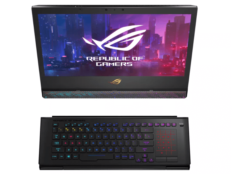 CES 2019: ASUS announces the ROG Mothership (GZ700) gaming surface-style laptop
