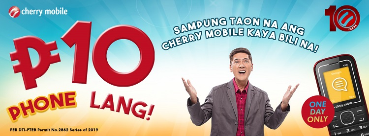 Cherry Mobile Announces Php10 Phone Sale!
