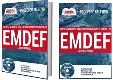 Apostila EMDEF Franca 2017 - Jovem Aprendiz
