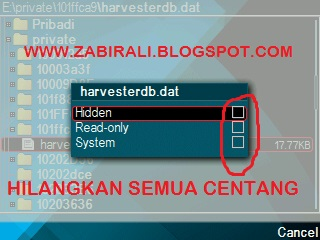 Cara Menghapus File Membandel Pada Symbian Brother Zabir