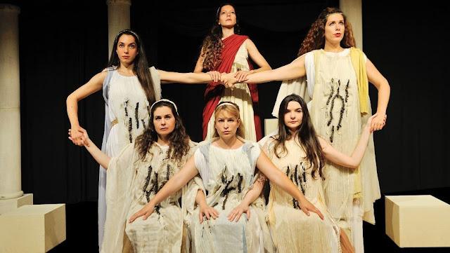 Παράσταση για την Αρχαία ποιήτρια του Άργους «Τελέσιλλα» στο Αρχαίο Θέατρο Μεσσήνης