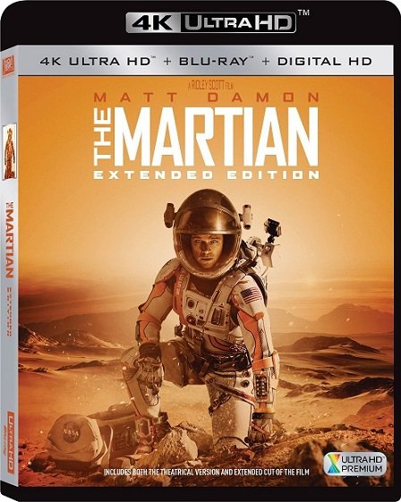 The Martian EXTENDED 4K (Misión Rescate 4K) (2015) 2160p 4K UltraHD HDR BluRay REMUX 48GB mkv Dual Audio Dolby TrueHD ATMOS 7.1 ch